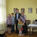 Gita Kolosovienė su šeima